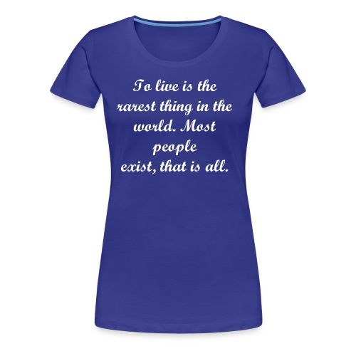 Oscar Wilde - Woman - Women's Premium T-Shirt