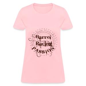 new Barrel Racing Pasion - Women's T-Shirt