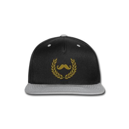 Mstache Hat - Snap-back Baseball Cap