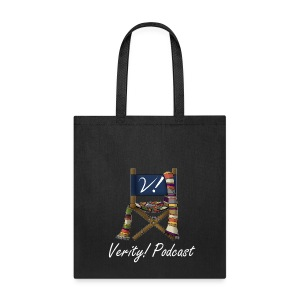 Verity! Podcast Tote Bag-Dark - Tote Bag