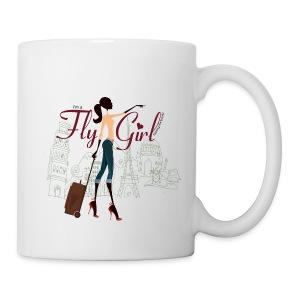Chic FlyGirl - Mug - Coffee/Tea Mug