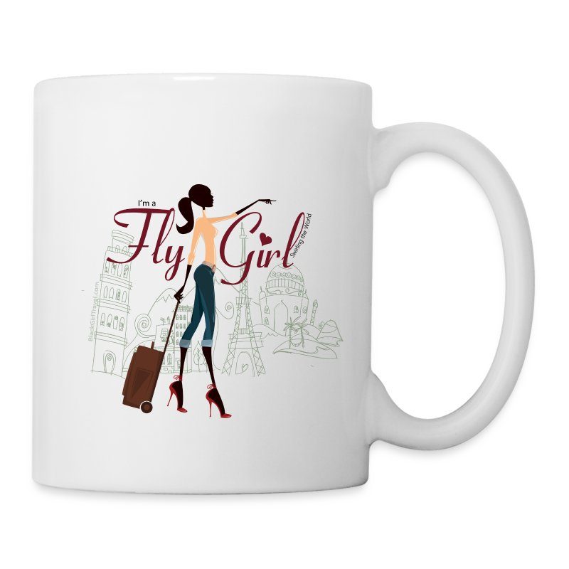 Chic FlyGirl - Mug - Coffee/Tea Mug