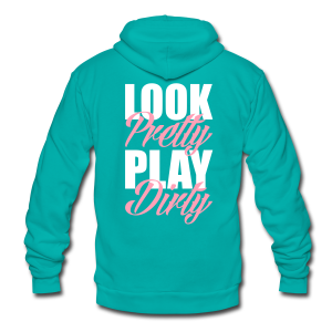LPPD Zip Up - Unisex Fleece Zip Hoodie by American Apparel