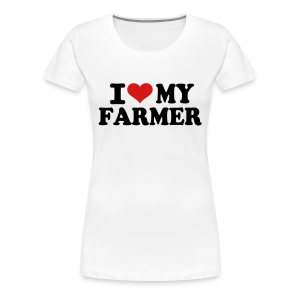 Heart My Farmer Tee - Women's Premium T-Shirt