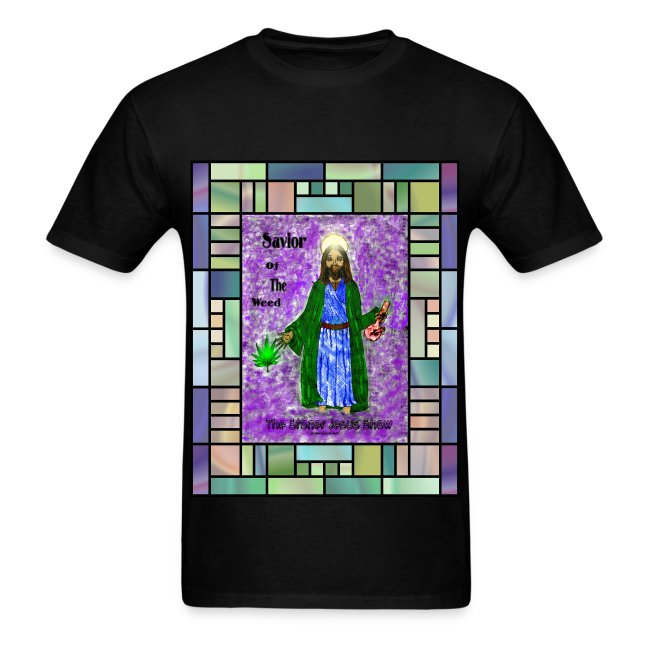 Stained Glass Savior shirt by @dankraven420