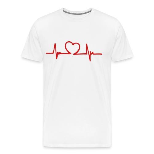 Beating Heart Shirt - Men's Premium T-Shirt
