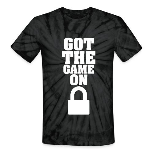 Got The Game On LockDown - Unisex Tie Dye T-Shirt