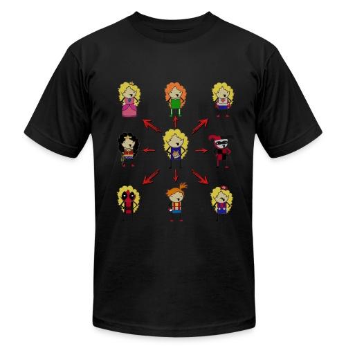 Many Moonshines Man T - Men's  Jersey T-Shirt