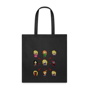 Many Moonshines Tote - Tote Bag