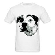 T-Shirts ~ Men's T-Shirt ~ Pit Bull T-Bone