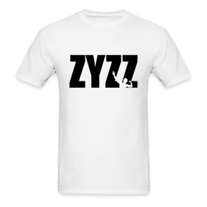 Zyzz T-Shirt Pose Text - Men's T-Shirt