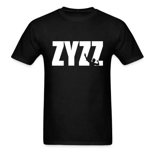 Zyzz T-Shirt Pose Text - Men's T-Shirt