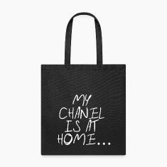 My chanel is at home Bags & backpacks