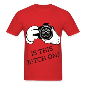 B!TCH ON? - Men's T-Shirt