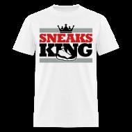 T-Shirts ~ Men's T-Shirt ~ Sneaks King Shirt