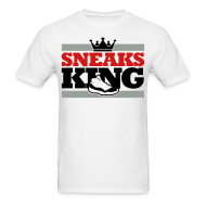 T-Shirts ~ Men's T-Shirt ~ Sneaks King Shirt