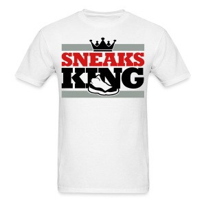 Sneaks King Shirt - Men's T-Shirt