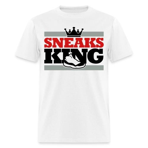 Sneaks King Shirt - Men's T-Shirt