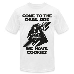 Darth Come To The Dark Side Tee - Men's T-Shirt by American Apparel