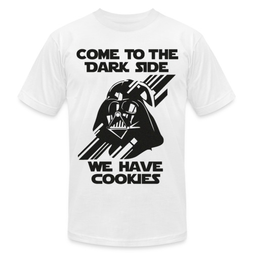 Darth Come To The Dark Side Tee - Men's Fine Jersey T-Shirt