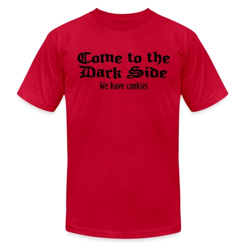 Come To The Dark Side Tee - Men's Fine Jersey T-Shirt