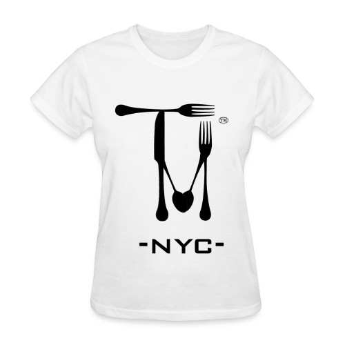 WOMEN'S TASTEMAKERS NYC LOGO TEE - Women's T-Shirt