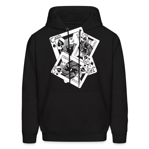 Tripple jack of spade Cash Jack Edition  - Men's Hoodie