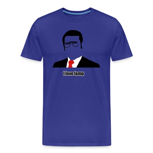 i love lamp - Men's Premium T-Shirt