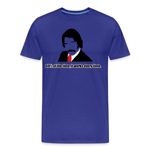 60% of the time it - Men's Premium T-Shirt