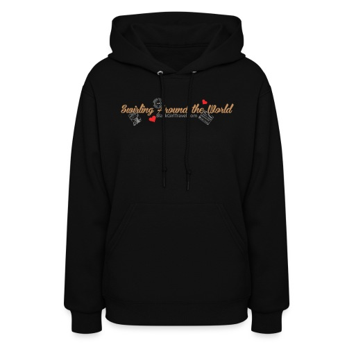 Swirling - Passport Stamp - Women's Hoodie