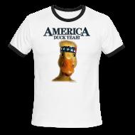 T-Shirts ~ Men's Ringer T-Shirt ~ America, Duck Yeah! Shirt