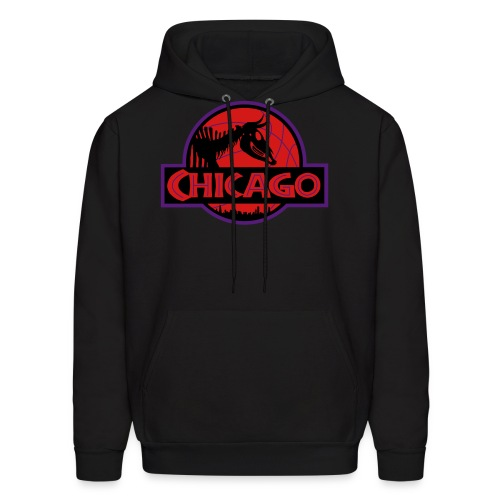 Jurassic Chicago (Raptor 7s Inspired) - Men's Hoodie