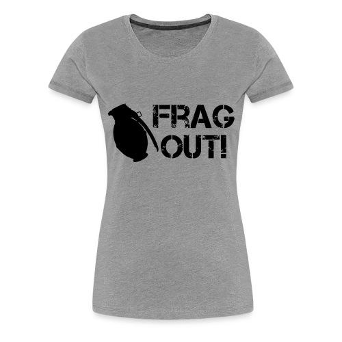 Women's FRAG OUT tee - Women's Premium T-Shirt