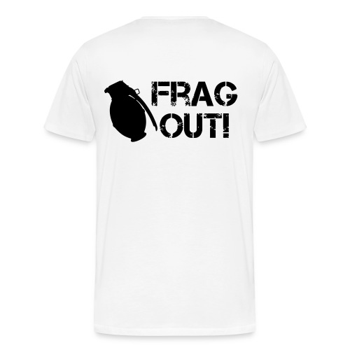 FRAG OUT tee - Men's Premium T-Shirt