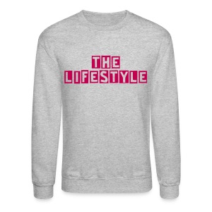 Grey Lifestyle Crew - Crewneck Sweatshirt