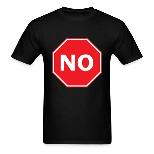 No Sign T-Shirt - Men's T-Shirt
