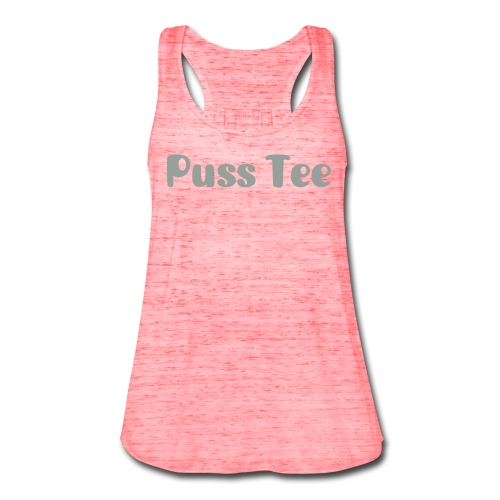 Puss Tee Collection - Women's Flowy Tank Top by Bella