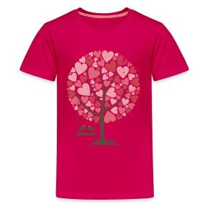 Lovebirds - Kids' Premium T-Shirt