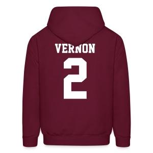 VERNON 2 - Hoodie (XL Logo, NBL) - Men's Hoodie