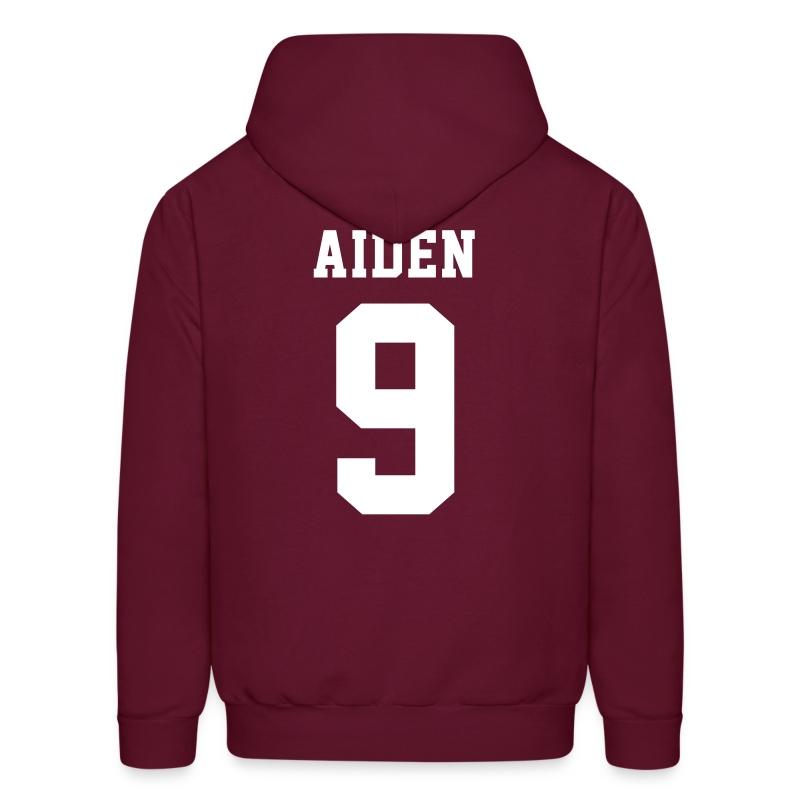 AIDEN 9 - Hoodie (S Logo, NBL) - Men's Hoodie