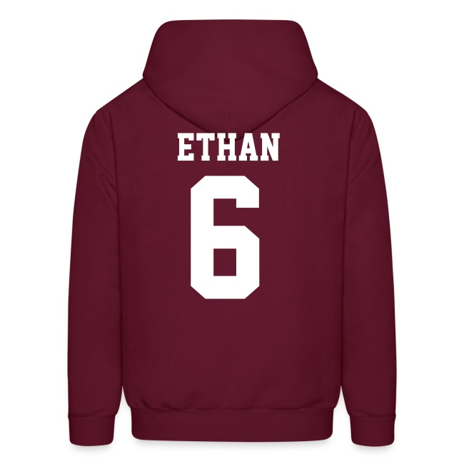 """ETHAN 6"" - Hoodie (S Logo, NBL)"
