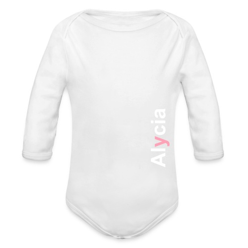 Ensemble Bébé Alycia - Organic Long Sleeve Baby Bodysuit