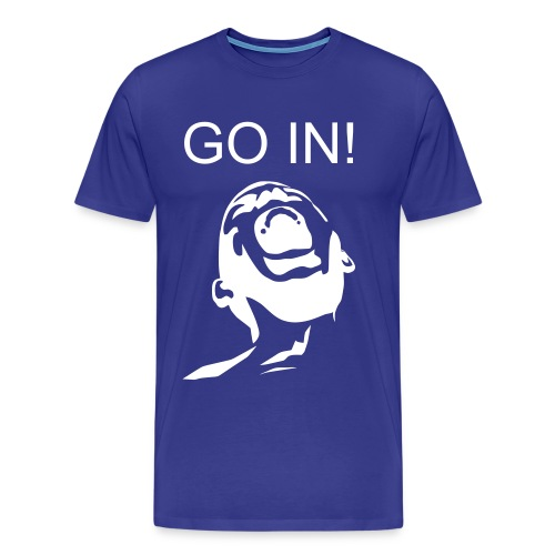 Go IN shirt - Men's Premium T-Shirt