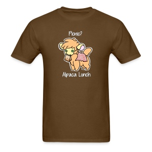 Alpaca Lunch Men's Tee - Men's T-Shirt