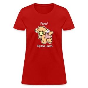 Alpaca Lunch Ladies Tee - Women's T-Shirt