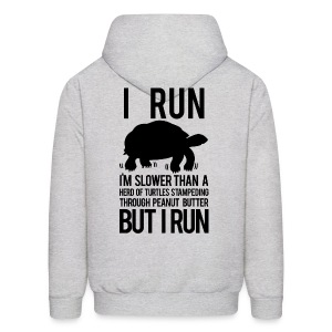 I'm slower than a herd of turtles | Mens hoodie - Men's Hoodie