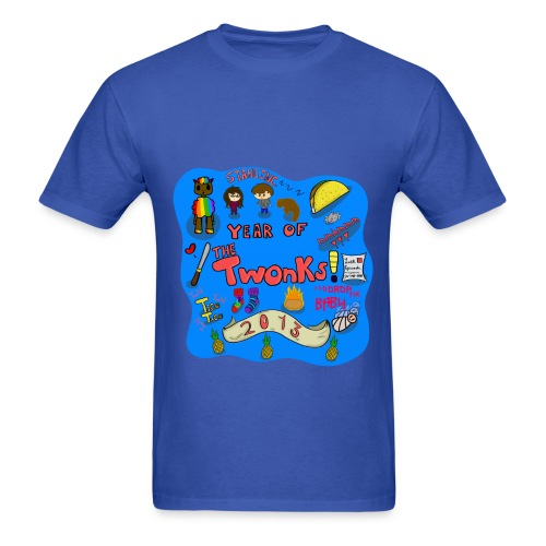 The Year of The Twonks T-Shirt - Men's T-Shirt