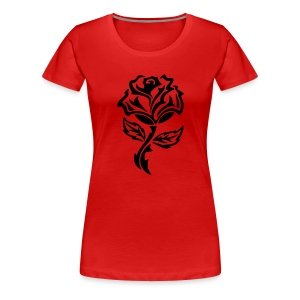Rose  (KJ Product) - Women's Premium T-Shirt