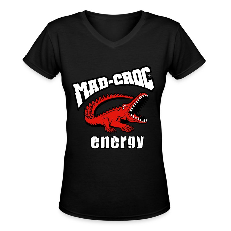 10_MC_Logo_13-5°_Energy_Gray 2.png - Women's V-Neck T-Shirt