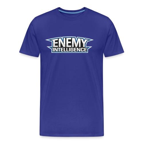T-Shirt (male) with text - Men's Premium T-Shirt